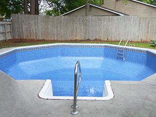 Octagon Shape In-Ground Pool
