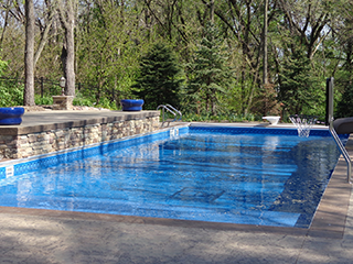 Inground Pools Shapes in-ground pool shapes | mcewen industries